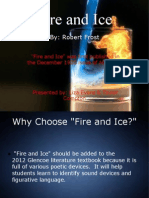 Fire and Ice Literary Devices]