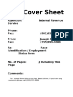 4.Cover Sheet Fax for 8832