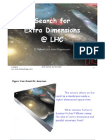 C. Collard- Search for Extra Dimensions @ LHC