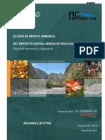 Odebrecht - Proyecto Hidroenergetico Chadin 2 - Resumen Ejecutivo (Español)
