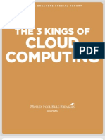 3 Kings of Cloud Computing