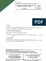 Abnt - Nbr 6072 Tb 11-Viii-b - Veiculos Rodoviarios Auto Mot Ores - Sistema Eletrico Eletronico E Iluminacao - Dinamo