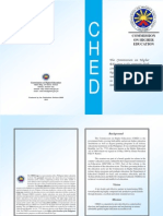 CHED Brochure 2010