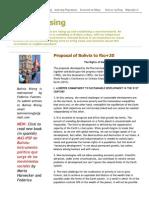 Proposal of Bolivia to Rio+20