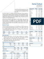 Market Outlook 23rd January 2012