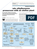 Integrate Ethyl Benzene Production With an Olefins Plant, HC Processing, 1999, Pg77-88