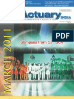 Actuary India March 2011