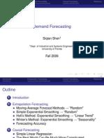 Demand Forecast