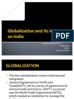 Globalization and Its Impact on India