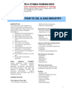 Introduction to Oil & Gas Industry