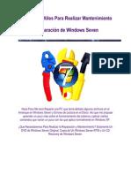 Comandos Para Reaparacion de Windows 7