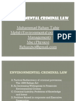 REHAN TAHIR, MUHAMMAD  (Environmental Criminal Law)