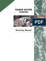 Range Rover Classic Manual 1995