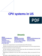 CPV Systems in US
