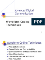 Waveform Coding Techniques