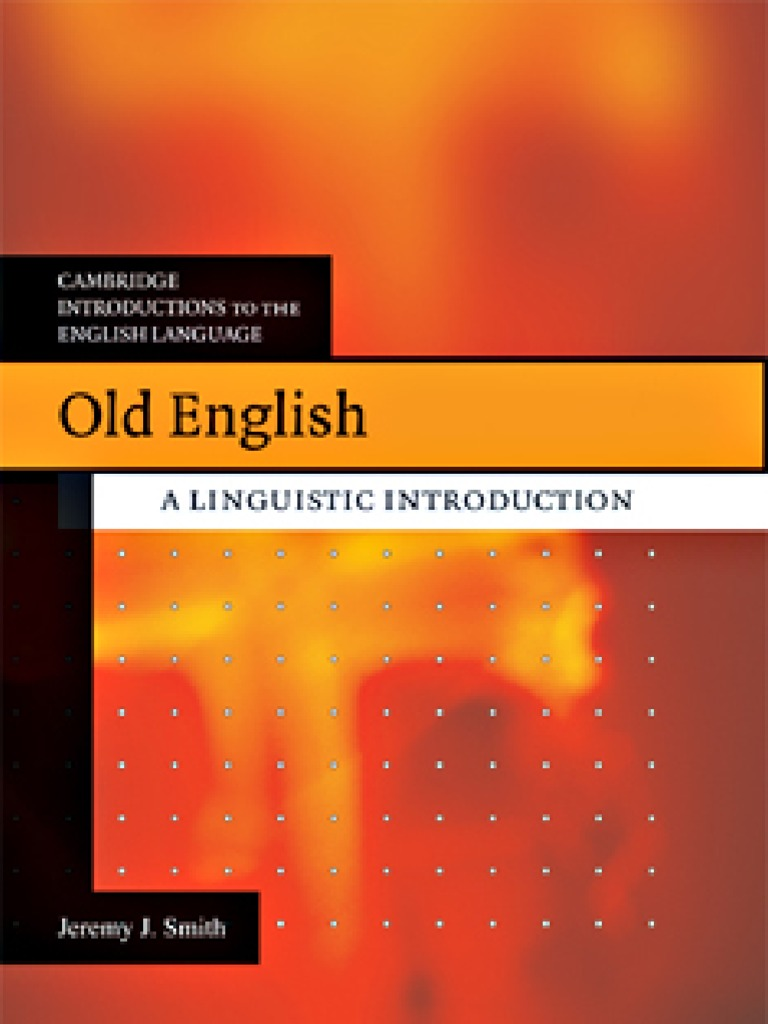 Old english linguistic introduction syllable stress linguistics fandeluxe Choice Image