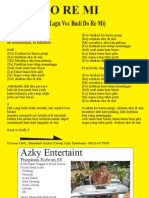 D Doremi - Liryc Lagu POP - Budi Do Re Mi