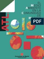 Atlas El Medio Ambiente en La Comunidad de Madrid