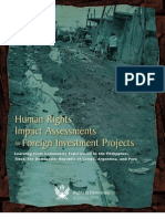 Rights and Democracy - Human Rights Impacts Assessments for Foreign Investment Projects - May 2007