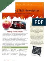 December Newsletter 2011