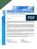 The mobile print enterprise