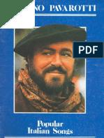 Luciano Pavarotti - Popular Italian Songs Songbook)