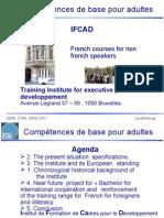 Presentation IFCAD EN