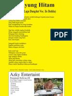P Payung Hitam - Liryv Lagu Dangdut - Iis Dahlia