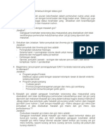 Soal Essay Gizi - FKM Uniska Semester v (Lima) C-D