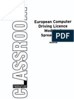 8034-ECDL Mod 4 Spreadsheets[1]