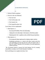 Legal Framework Reform in Romania
