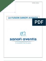 Fusion Sanofi Aventis