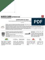 Newsletter 2/2012 - Gater P/E 2013 presentazione collezioni