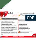 Brochure Logiciel Gestion Clients
