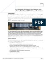 MD40 Patch Panel Data Sheet