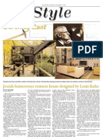 jewish chronicle layout - architecture