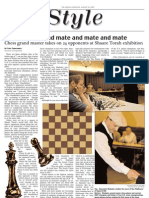 jewish chronicle layout - chess