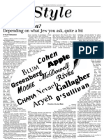 jewish chronicle layout - jewish names