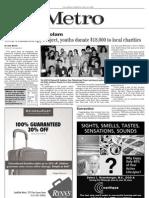 jewish chronicle - teen philanthropy forum story