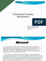 WE Microsoft.