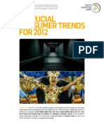 Consumer Trend for 2012