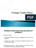 17. Foreign Trade Policy