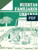 Huertas Familiares Urbanas - CERBAS