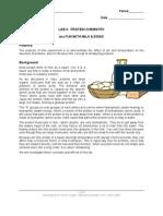 Lab 04 Protein Chemistry 2005
