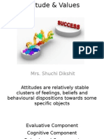 Attitude & Values