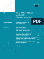 Diesel MAN B_W V40-50
