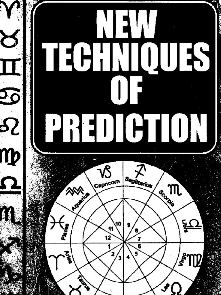 New techniques of predictions 1 astrology science fandeluxe Choice Image