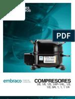 BCT 026 BE 01 Compresores Fraccionarios BOHN EMBRACO