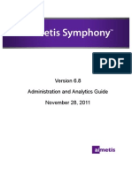 Aimetis Symphony Administration and Analytics Guide November 28 2011