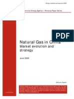 Natural Gas in China (Market Evolution & Strategy)